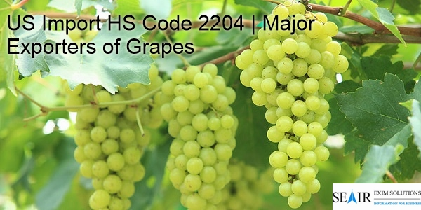 US Import HS Code 2204